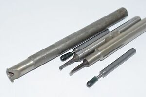 Lot Of 5 Criterion Grooving Tool Boring Bar Threading Usa