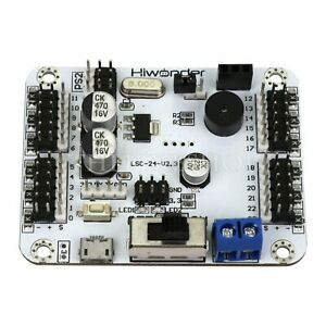 24channel Servo Controller Board Offline Operation For Ps2 Handle Bluetooth Mp3