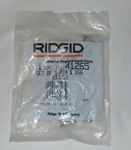 Ridgid 41265 5 Pins washers E1375x Set For 300 450 460 Tristand Chain Yoke Vise