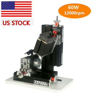 12000rpm Metal Indexing Milling Machine Diy 6 Axis Drilling Milling Machine 60w