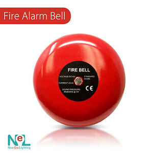 1 8 X New Era Fire Alarm Bell 6 12vdc Security Bell 12v Dc