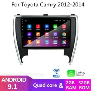 2 32g Android 9 1 Car Dvd Player Radio Gps Navigation Wifi For Toyota Camry 2012