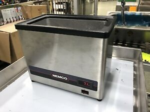 Nemco 9020 Dipper Style Chiller Condiment Caddy Topping Station Nsf