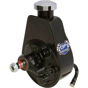 Black Saginaw Power Steering Pump Keyway Style Chevy Ford Gm Chrysler Ps Oem
