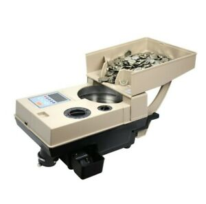 Automatic Coin Sorter Electronic Coin Counting Machine Multinational Universal