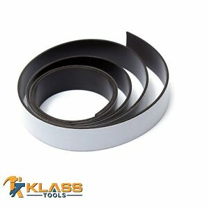 Heavy Duty 3 4 X 56 Self adhesive Magnetic Tape