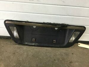 2004 2005 2006 2007 2008 Acura Tl Type S License Plate Holder With Lights Oem