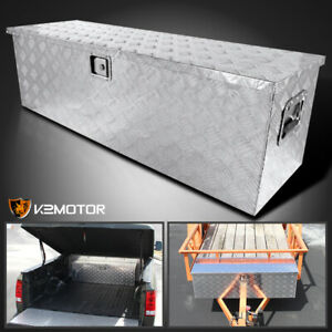 49 Heavy Duty Aluminum Tool Box Pickup Truck Storage Underbody Trailer Flat Bed
