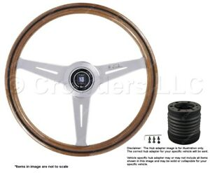 Nardi Classic 360mm Steering Wheel Momo Hub For Porsche 5061 36 3000 C231