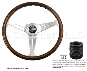 Nardi Classic 390mm Steering Wheel Momo Hub For Porsche 5061 39 3000 7005