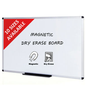 Viz pro Dry Erase Board Magnetic Aluminium Frame School And Office Whiteboard