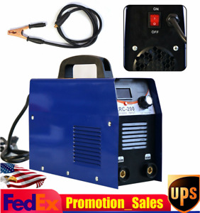 200amp Mma arc Stick Dc Igbt Inverter Welder Dual Voltage Welding Machine 110v