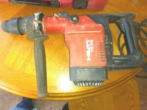 Hilti Te 75 Hammer Drill With 8 Bits And Case