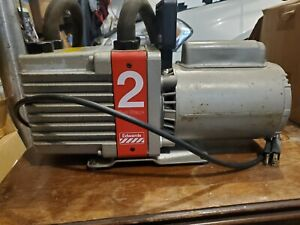 Edwards E2m2 Rotary Vane 2 stage Vacuum Pump 115 230 Vac 1 3 Hp