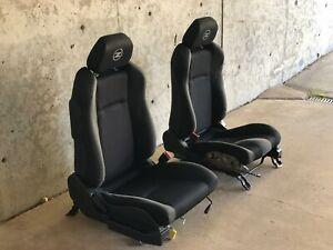 Nissan 2006 350z Seats With Airbags Black