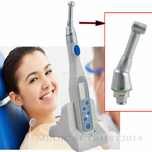 Dental Endo Motor Endodontic s Treatment Cordless 16 1 Contra Angle Handpiece