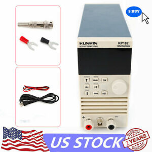 Electronic Dc Load Tester 200w 150v 20a Single Channel Meter Kp182 Us Plug