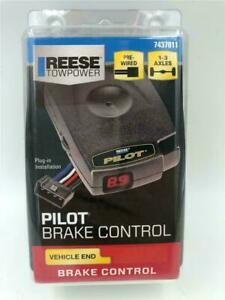 New Reese Towpower Pilot Trailer Brake Control 7437811 Pre wired 1 3 Axles