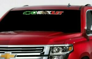 Chevrolet Mexico Flag Sticker Vinyl Decal Chevy Silverado Tahoe Suburban Banner