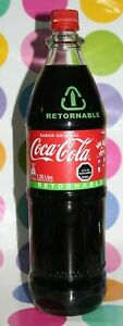 CHILE edition OLD COCA COLA BIG TALL BOTTLE ACL RARE SIZE 1.25 1250 1 1/4 LITER