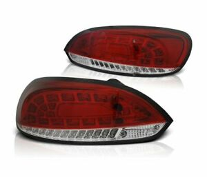 Tail Lights Ldvwi1 Vw Scirocco Iii 2008 2009 2010 2011 2012 2014 Red White Led