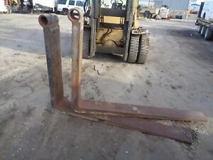 Forklift Forks Measures 72 X 8 X 3 3 Id pair