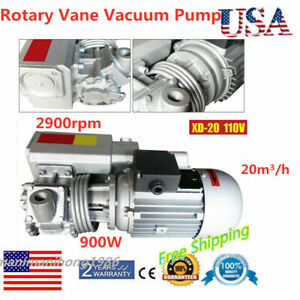 Xd 20 Rotary Vane Vacuum Pumps Suction Pump Vacuum Machine Motor High Quality Us