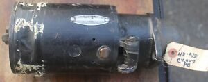 1942 1946 1947 1948 Chevy Car And Truck Rebuilt Starter 110755 3500 Br