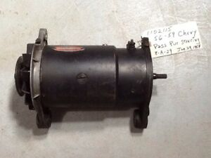 56 59 Chevrolet Gm Delco Remy Power Steering Generator 1102115
