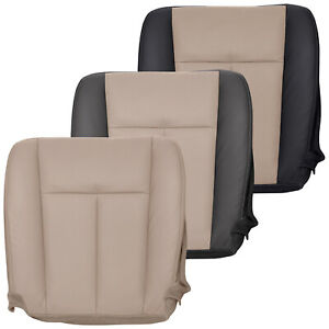 2007 2008 Ford Expedition Eddie Bauer Driver Perforated Leather Seat Cover