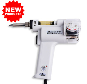 new S 998p 220v 100w Electric Vacuum Double pump Solder Sucker Desoldering Gun