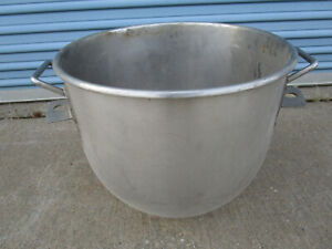 Used Stainless Steel 60 Qt Mixing Bowl For Hobart Mixers H600