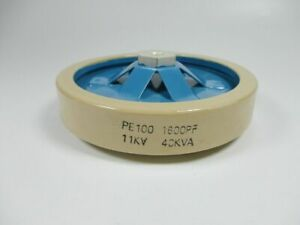1pc Pe100 1600pf 11kv 40kva High Voltage Ceramic Capacitor wx1