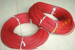 305 Meter Sumitomo 20kv 22awg High Voltage Wire Cable 105 Degree Red wx1