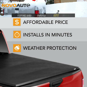 Truck Bed 3 Fold 5feet For 2019 20 Ford Ranger Xl Lariat Tonneau Cover Soft