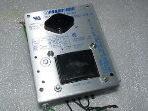 Power One Hb200 0 12 a Power Supply