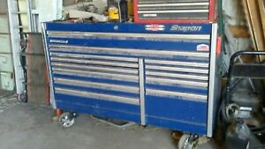 Snap On 13 Drawer Mechanics Tool Box Blue Price Reduced
