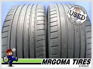 2 Dunlop Sp Sport Maxx Gt Ro1 Xl 275 35 21 Used Tires 6 9 32 Rmng 103y 2753521