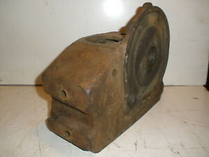 Vintage Briggs Stratton Gas Engine Crankcase 66859 For Early Model Pb