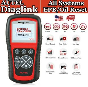 All System Obd2 Code Reader Diagnostic Scanner Automotive Eobd Obdii Oil Reset