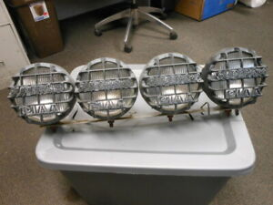 Piaa Super 4x4 6 Spot Lights Fog Lights Driving Lamps Set Assy