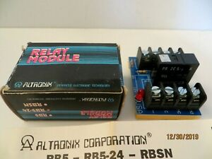 1 Altronix Relay Module New Rb5 24