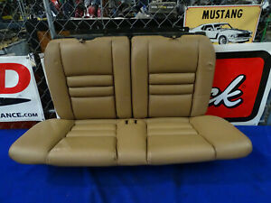 94 95 96 97 98 Ford Mustang Coupe Tan Rear Upper Lower Seat Seats Oem Used