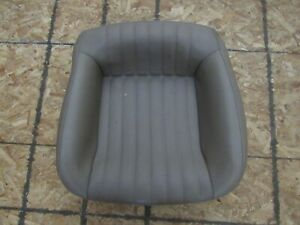 1993 2002 Firebird Trans Am Oem Gray Leather Bucket Seat Lower Section D19