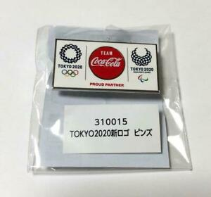 2020 Tokyo Olympics Limited Coca Cola pin Badge Sports Accessories Japan New F/S