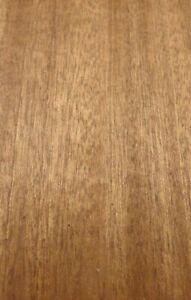Sapele Ribbon Mahogany Wood Veneer Edgebanding 4 X 120 Inches No Adhesive