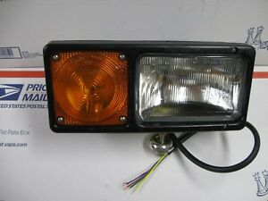 Western Or Fisher Passenger Side Snow Plow Light With Hardware New Made By Grote