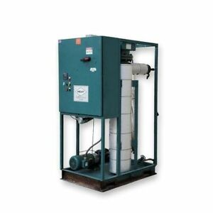 Used H e a t Inc 80kw Hot Oil Heater System Km550 80 483 Thermal Fluid