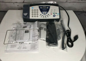 Brother Fax 575 Personal Plain Paper Fax Phone And Copier New In Opened Box
