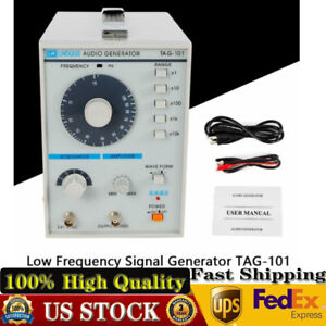 Sine square Waves 10hz 1mhz Audio low Frequency Signal Generator Tag 101 110v Us